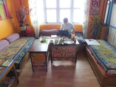 Terrace restaurant Gangtok