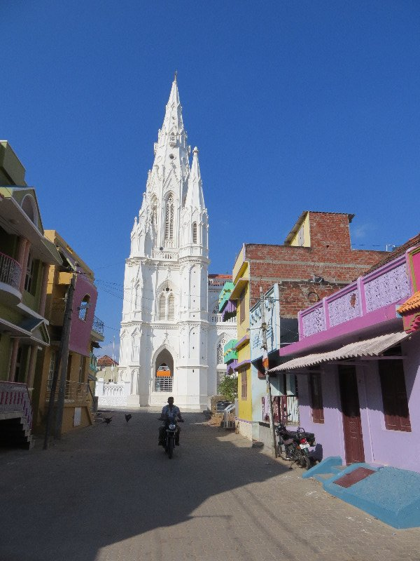 Gothic style Catholic Church Kanyakumari