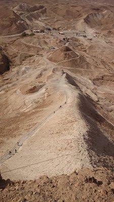 Trip to Masada and Dead Sea