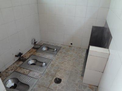Oeffentliche Toilette in Beijing