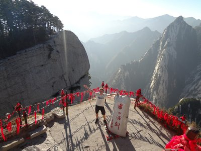 Hua Shan Gipfel