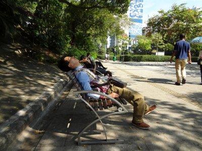 schlafende chinesen :)