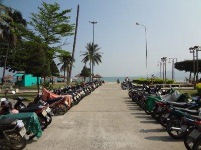 Nha Trang Beach Parkplatz
