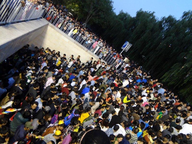 Nein nicht Loveparade - National Week in Beijing