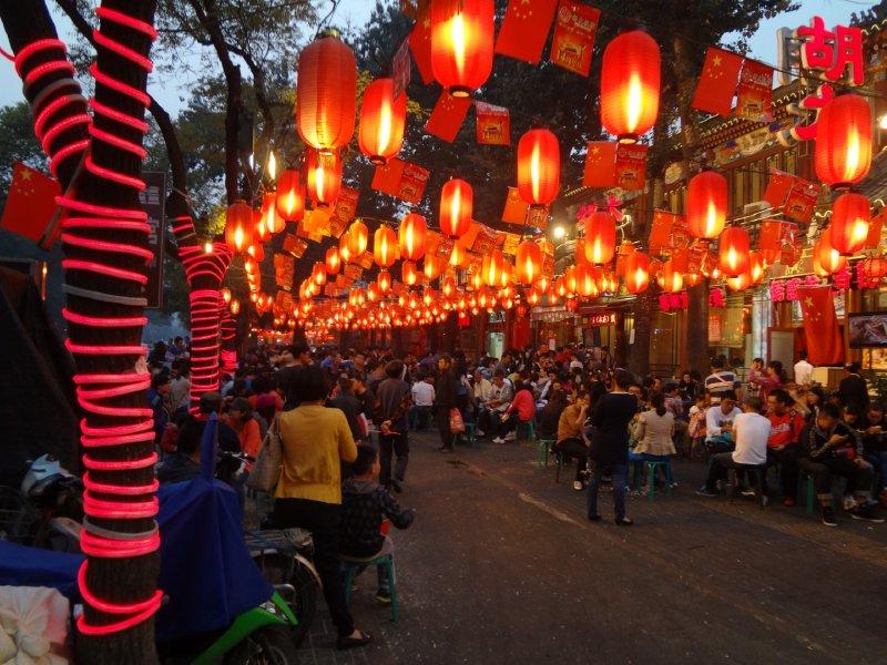 Strassen in Beijing