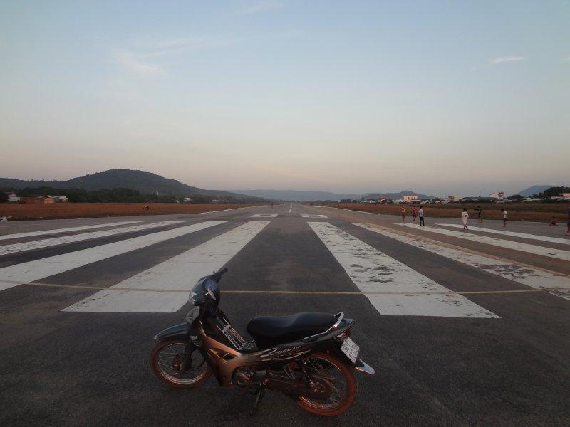 Phu Quoc Flughafen - beste Strasse der Insel