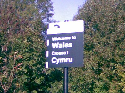 Welcome to Wales!!!!