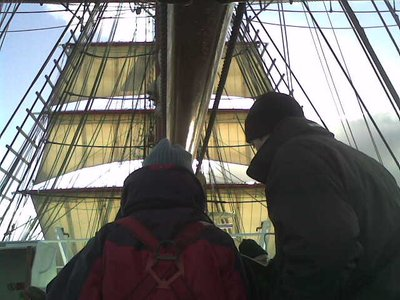 Sails and Helmsman