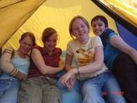 5 in the 3 man tent