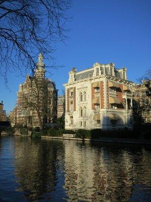 Canal near Rijkmuseum