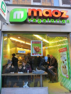 Maoz! I don't know when I will be able to have this delicious food again...