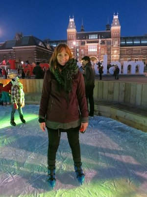 Ice skating Museumplein