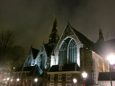 Church in red light district