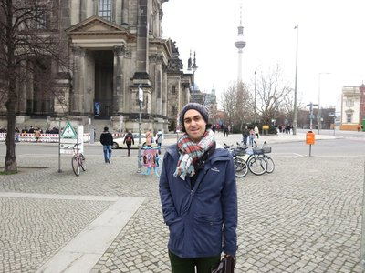Front of Cathedral, Museum Island