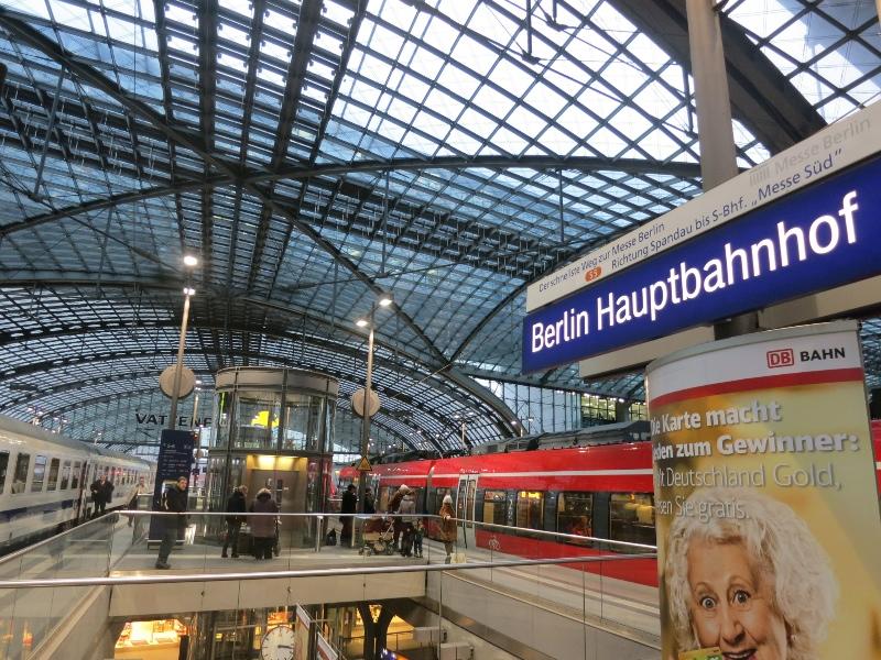 Arrival in Berlin