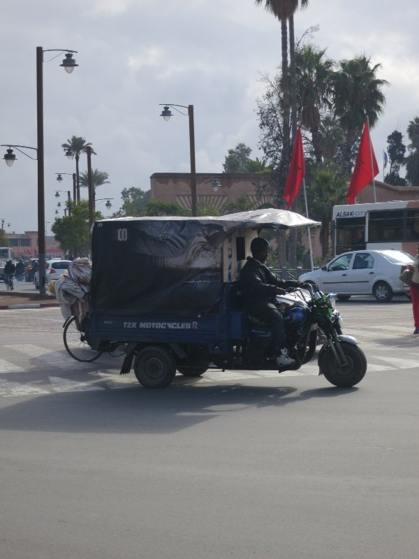 Standard transport option for Morocco