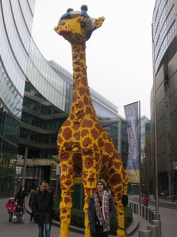 Legoland. Sony centre, Potsdamer Platz