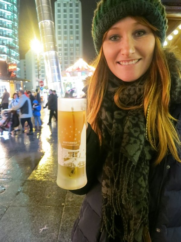 Hot cider at the Christmas markets