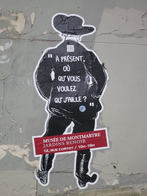 Street art, Montmartre