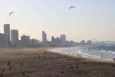 beach at Durban