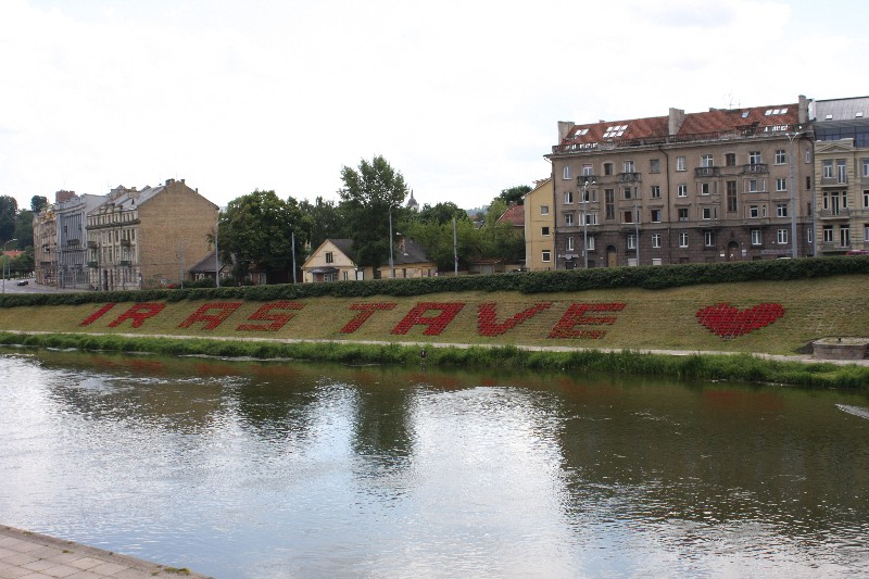 Vilnia River, Vilnius, Lithuania