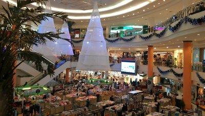 Mall decor