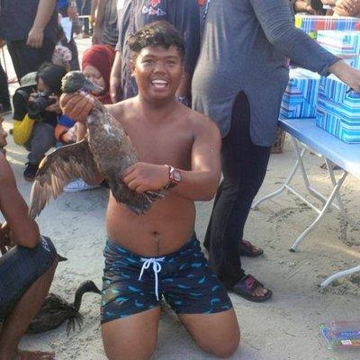 The duck hunt winner. So proud