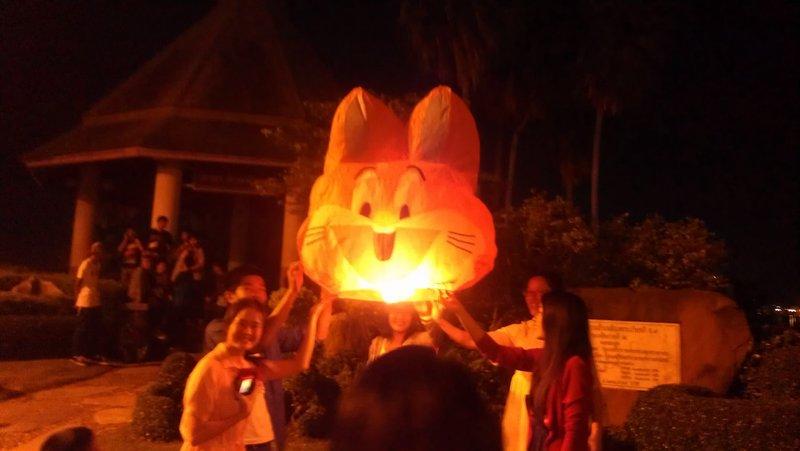 Bunny lantern. This was my fav