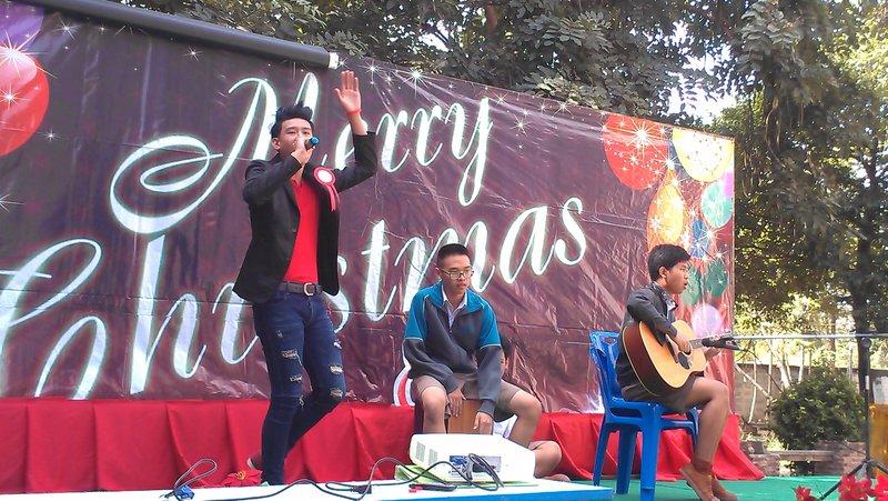 Talent singing