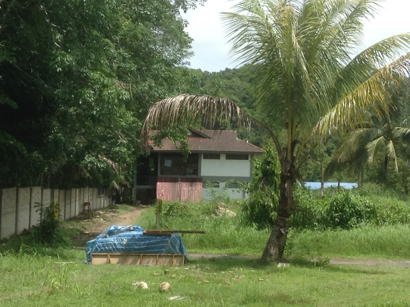 The volunteer shack in the middle of the jungle