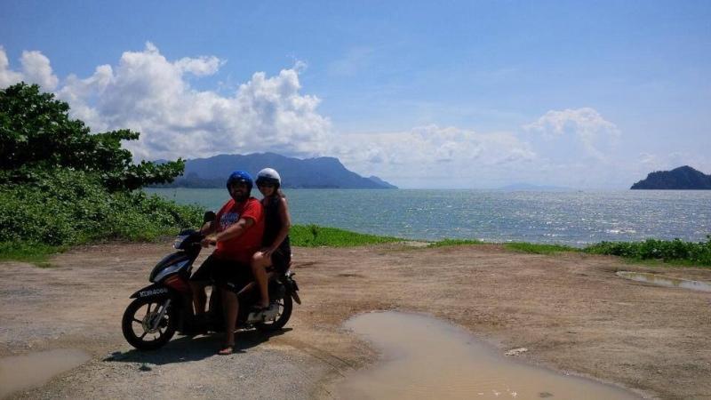 Motorbiking the island