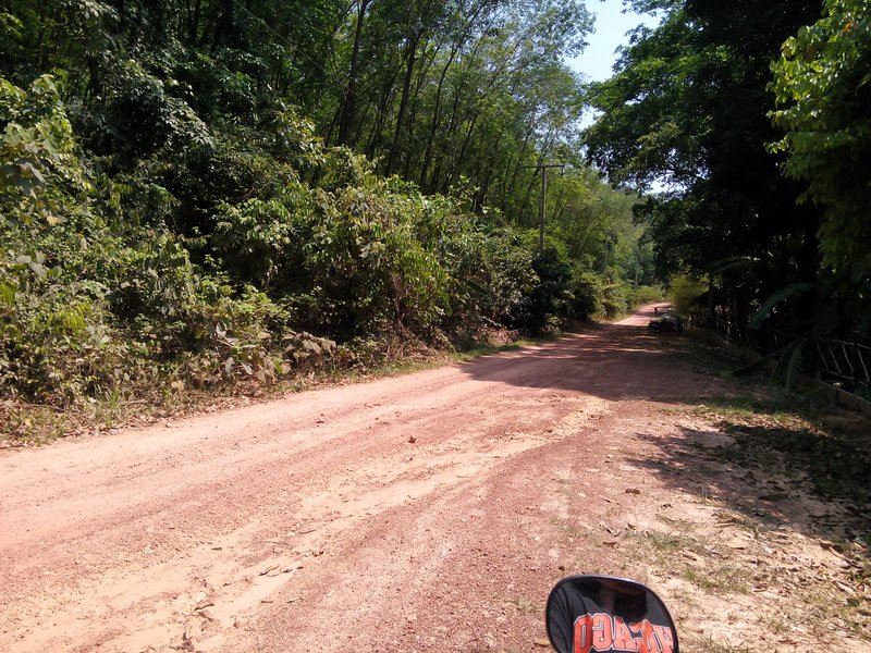 The roads of Koh Jum