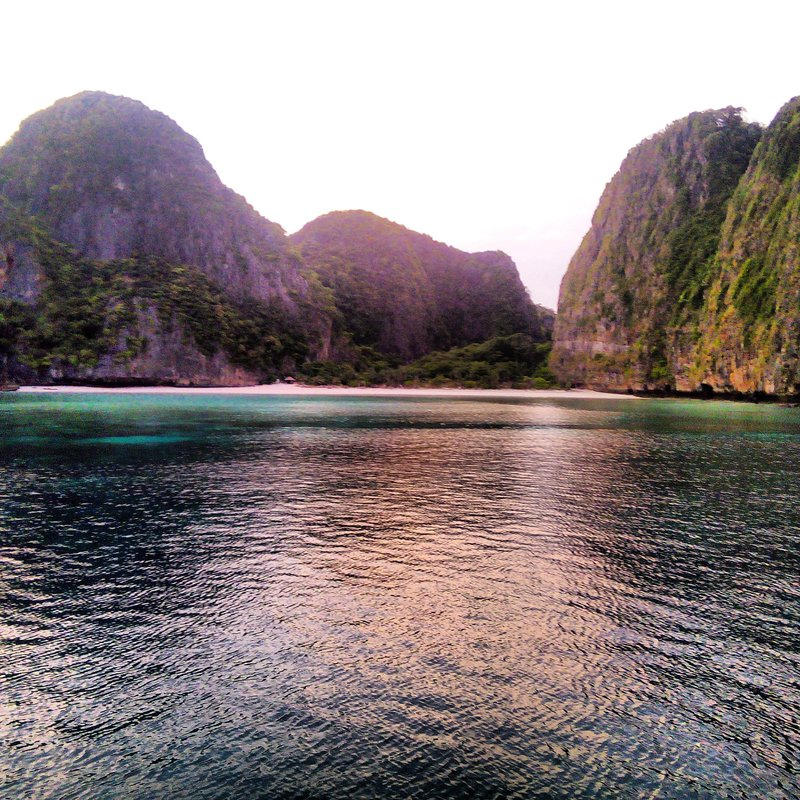 Woke up to an empty Maya Bay