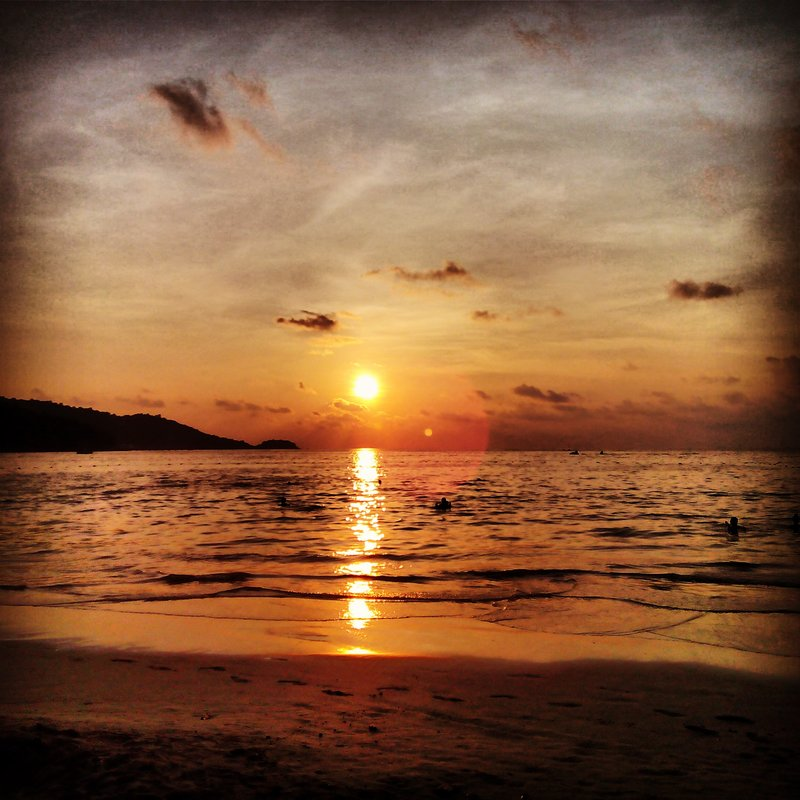 Our last sunset in Thailand...it was a beauty