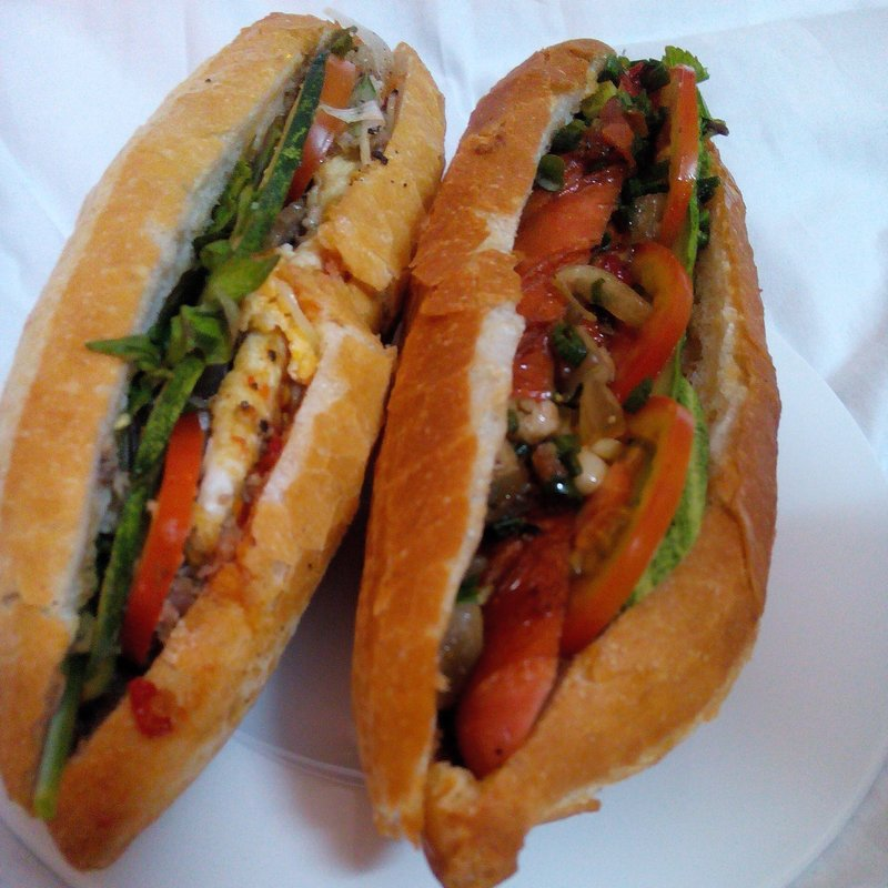 Anthony Bourdains claimed these to be the best banh mi in the world. Eh they were ok