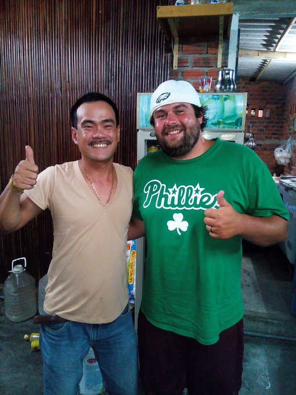 Zach and the owner of My Canh