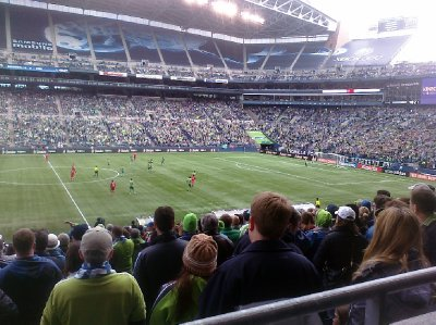 Centurylink Stadium Seattle Sounders FC Game