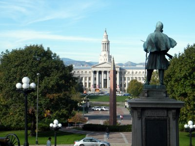 View From Colorado State Capitol Building
