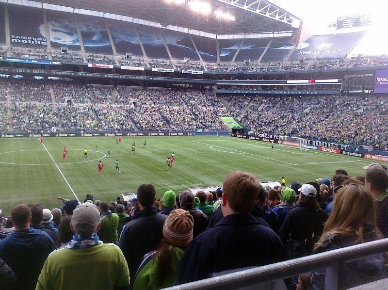 Centurylink Stadium Seattle Sounders FC Game
