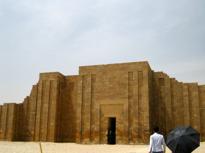Entrance at Saqqara