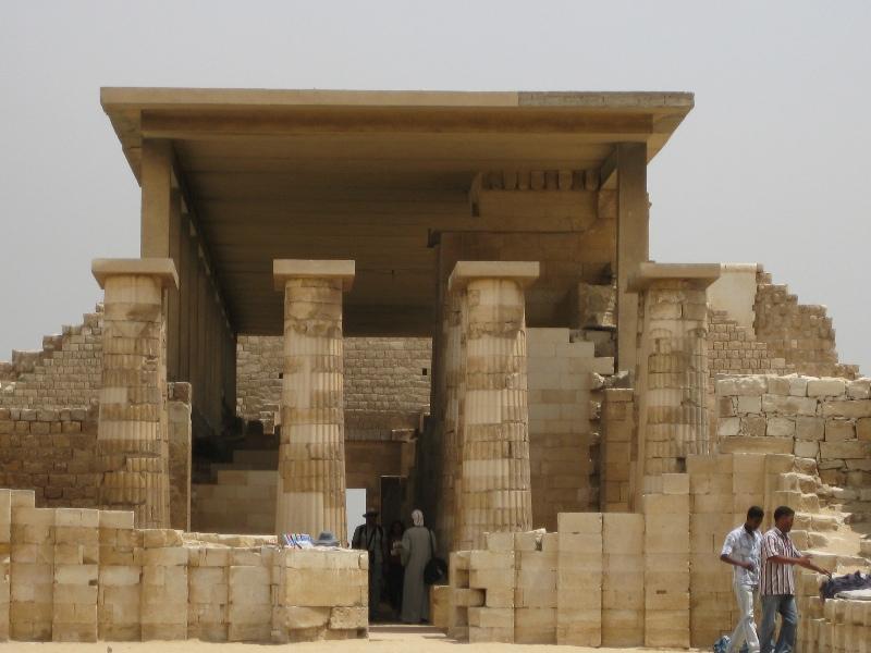 Saqqara Complex in runis