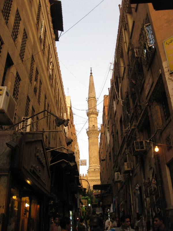 Narrow alley in Khan Al Khalili
