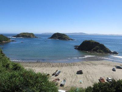 Puñihuil die Inselchen der Pinguine