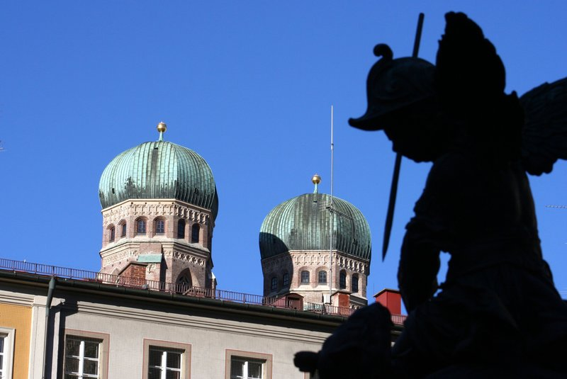 Munich Frauenkirche Towers