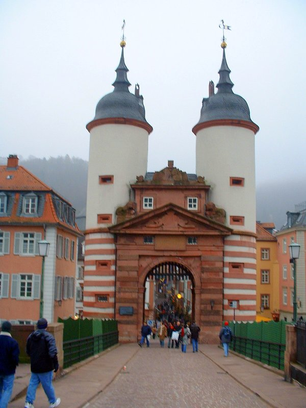 Heidelberg Gate of the Old Bridge