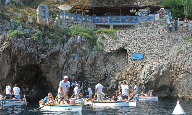 Blue Grotto Entrance