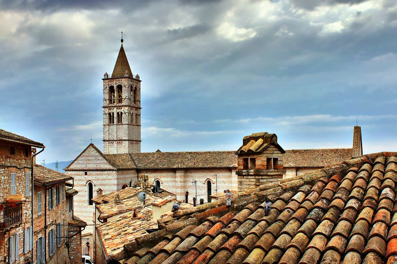 Tower of the Basilica of Santa Chiara, Assisi