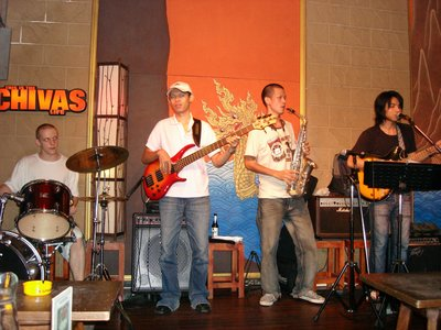 Band at Chivas