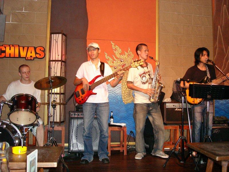 Band at Chivas