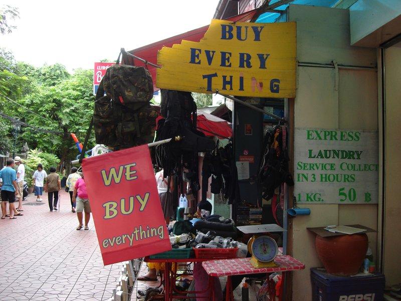 """We Buy Everything"""